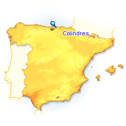 CARTE COLINDRES